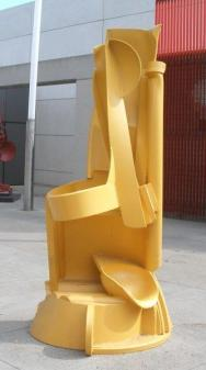 """MISSION BELL"", 1998, 85""H x 50""W x 42""D"