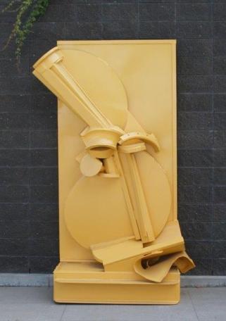 """SAMPAN"", 1996, 102""H x 62W x 33""D"