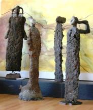 "Installation of ""Figures from the Khongoriin Els"""
