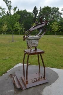 """""""Whirlybird"""", 2005, 71H X 59W X 21D Borden Park (July 2017)"""